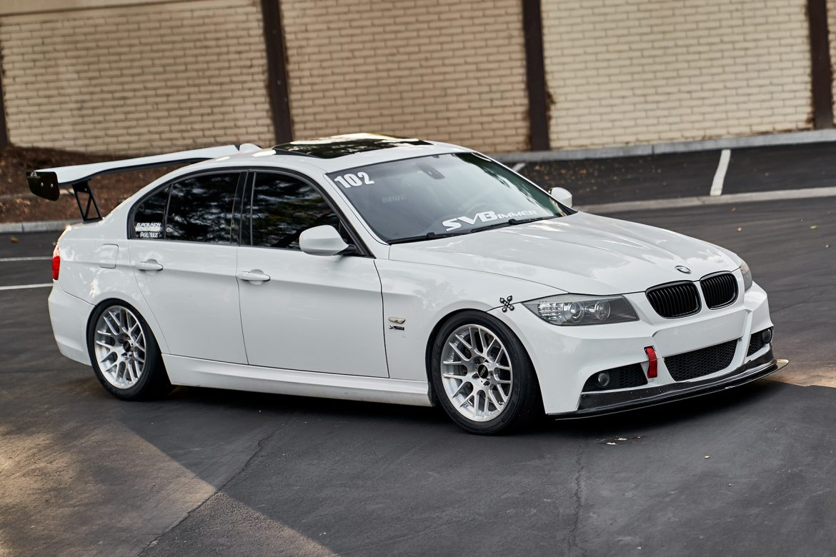 "Dual Duty BMW E90 335xi with 17"" ARC-8R Forged Wheels"