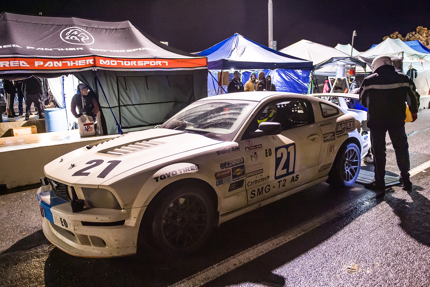 NASA 25 Hours of Thunderhill presented by Hawk Performance - Ford Mustang GT with APEX Wheels