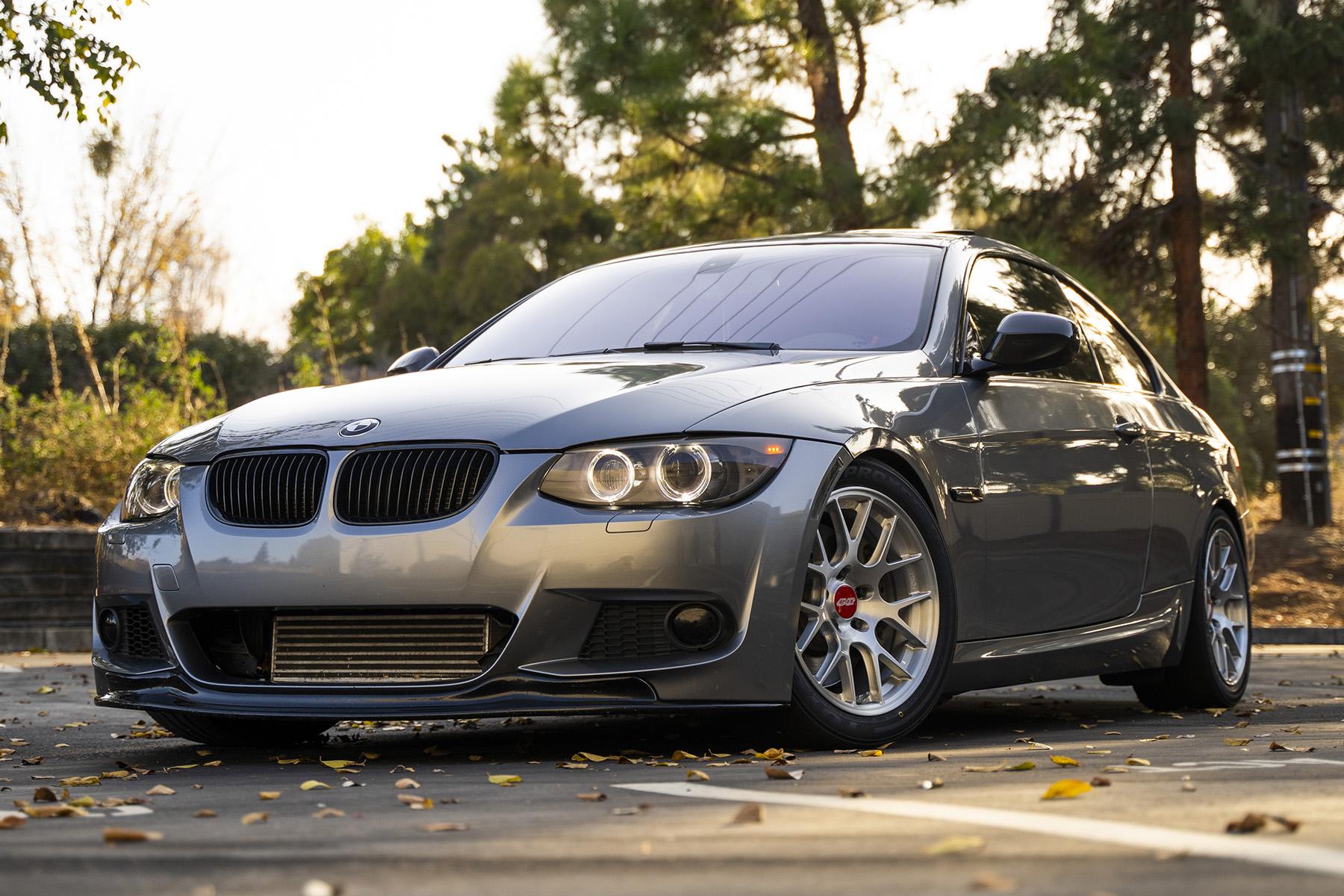 """BMW E92 335i featuring 17"""" ARC-8R Forged Wheels"""