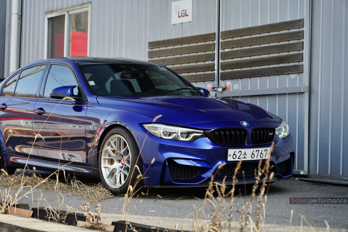 "BMW F80 M3 CS on 18"" EC-7R Forged Wheels"