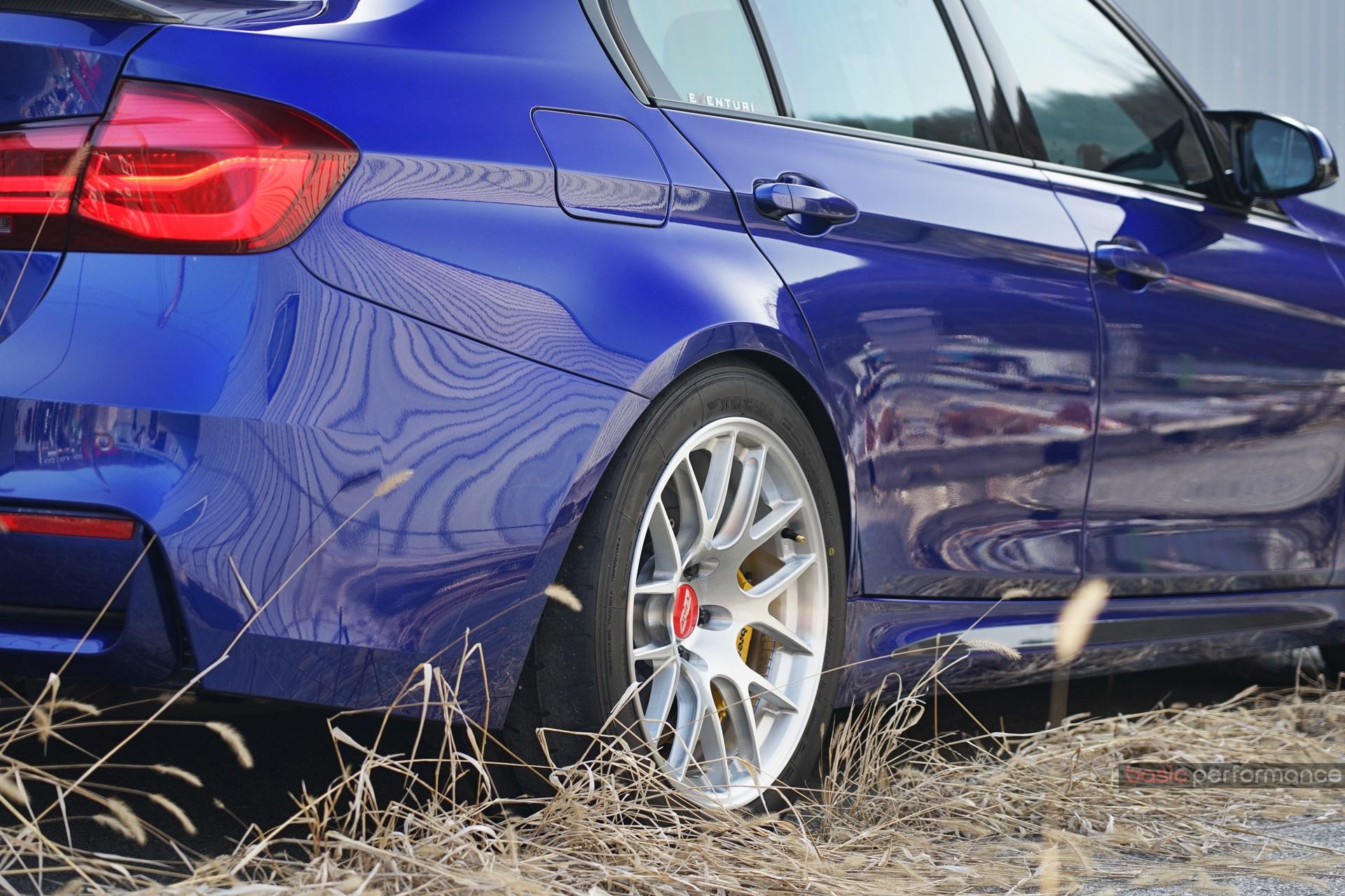 """BMW F80 M3 CS on 18"""" EC-7R Forged Wheels"""