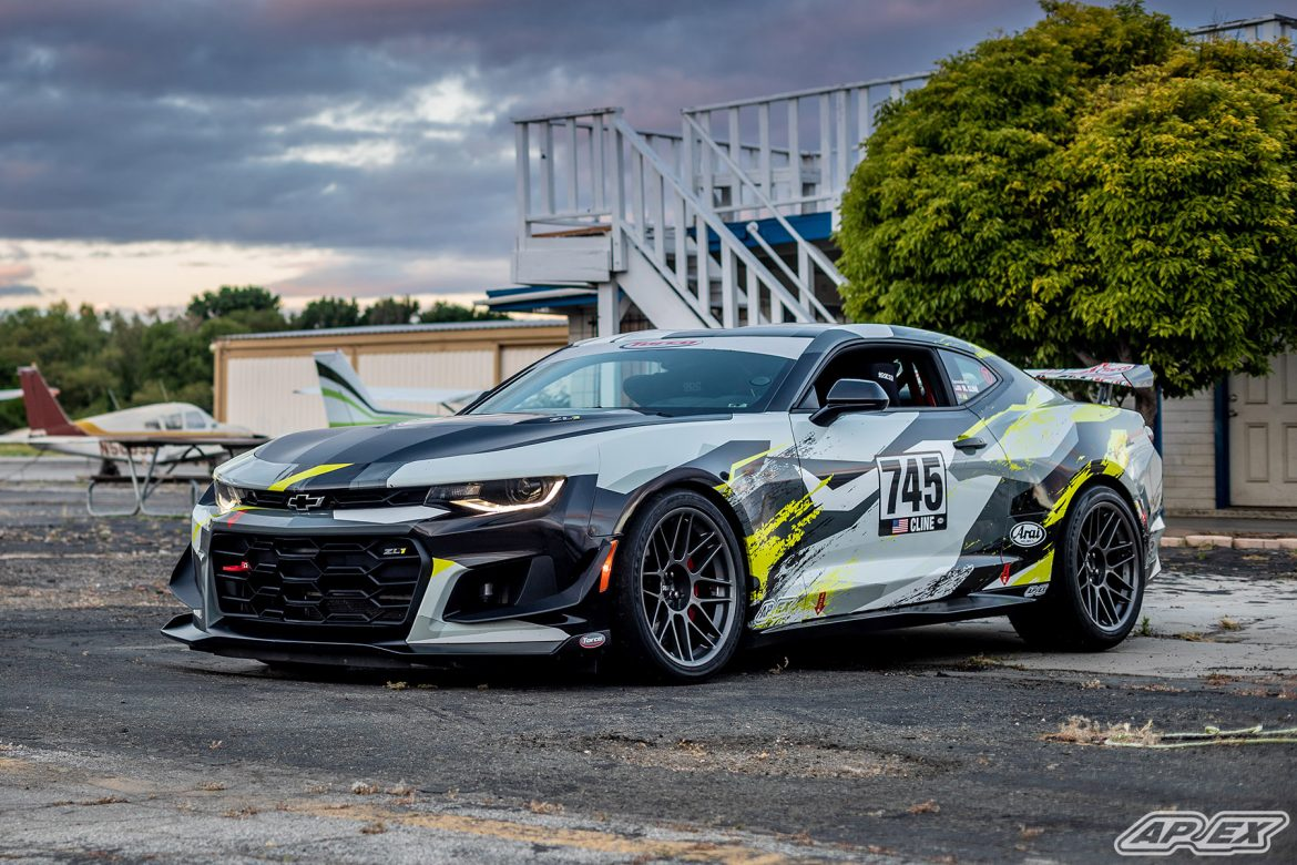 "Camaro ZL1 1LE Track Car on 19"" ARC-8 Wheels"