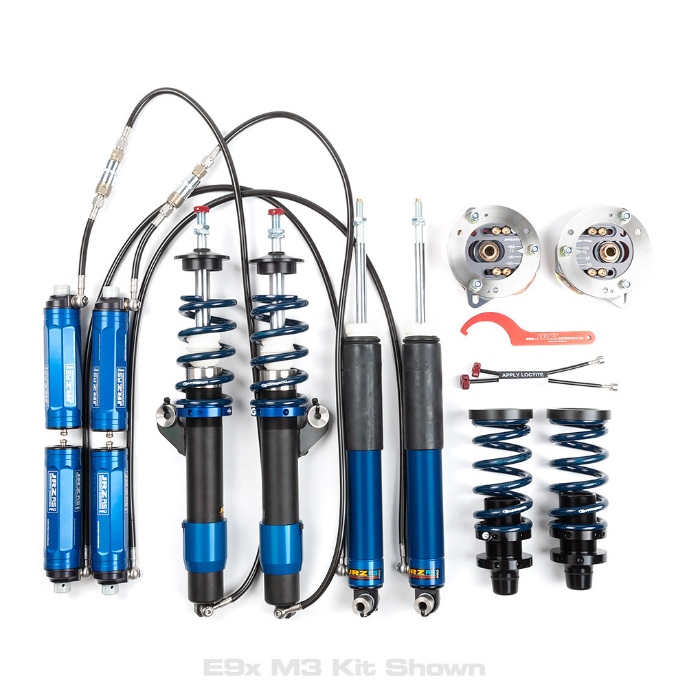 JRZ RS PRO Double Adjustable Coilover Kit for BMW E9X Non-M