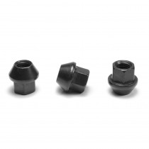APEX Black 17mm Open Race Nut - Sold Individually