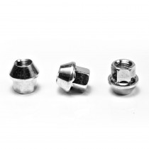 APEX Silver 17mm Open Race Nut - Sold Individually