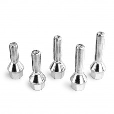 APEX Silver BMW Lug Bolts - Sold Individually