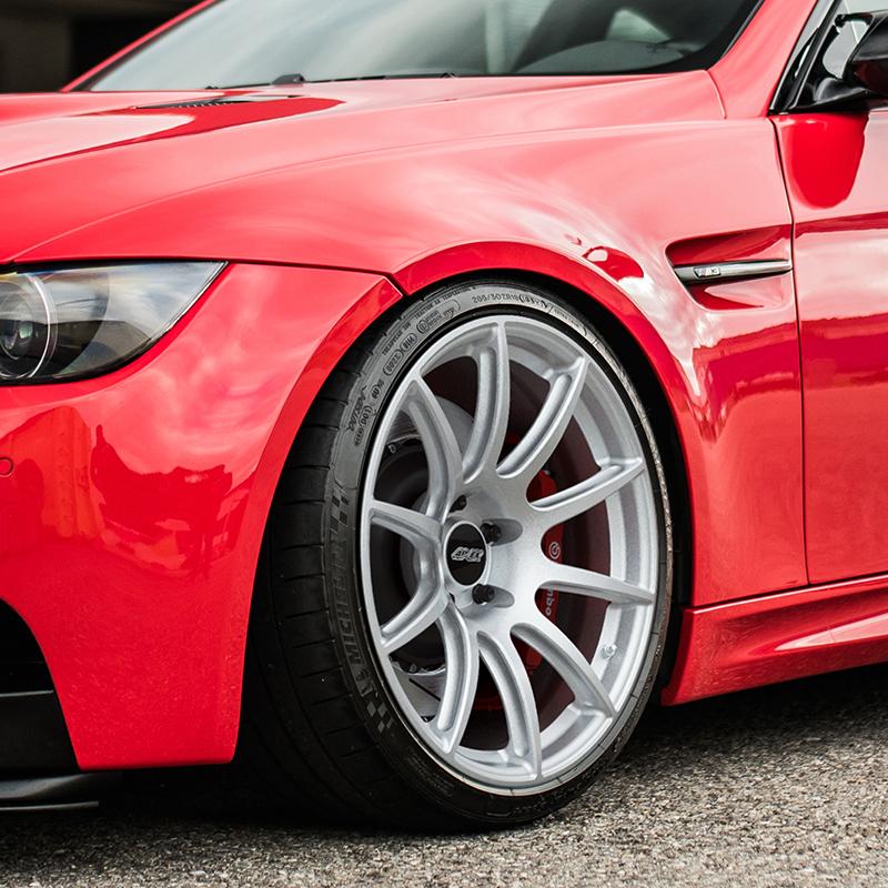 APEX 19 Inch SM-10 BMW Track Wheel Face Profile