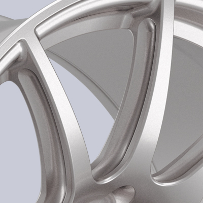 APEX 19 Inch SM-10 Mustang Track Wheel I Beam Spokes