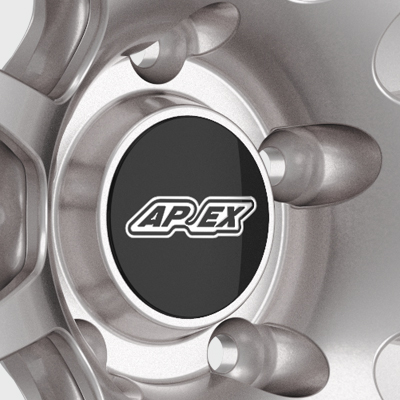 APEX 19 Inch SM-10 Mustang Track Wheel Open Center Design
