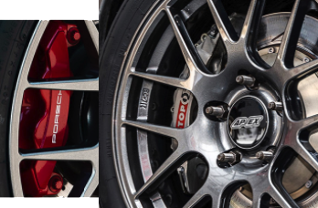 APEX EC-7R wheels clear a variety of big brake kits