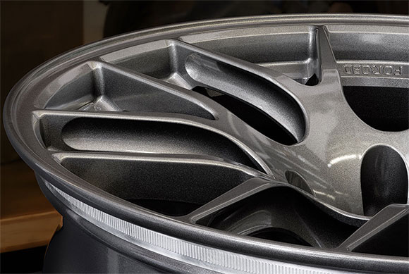 APEX EC-7R Forged wheels feature I Beam Spokes