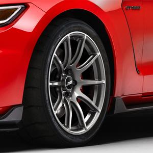 APEX 19 Inch SM-10 Mustang Track Wheel Face Profile